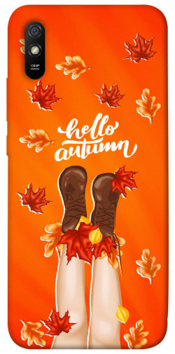 Чехол itsPrint Hello autumn для Xiaomi Redmi 9A