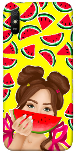 Чехол itsPrint Watermelon girl для Xiaomi Redmi 9A