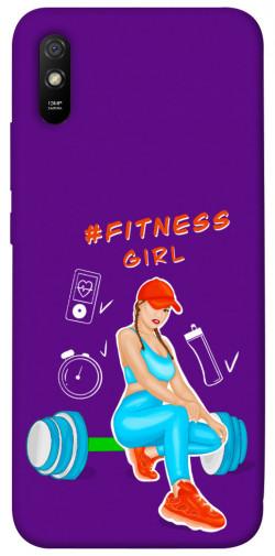 Чехол itsPrint Fitness girl для Xiaomi Redmi 9A
