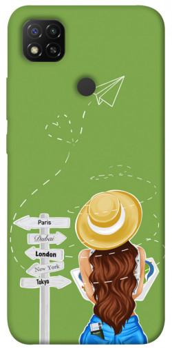 Чехол itsPrint Travel girl для Xiaomi Redmi 9C