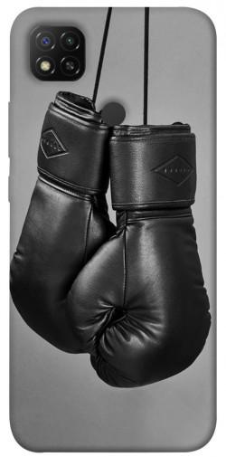 Чехол itsPrint Черные боксерские перчатки для Xiaomi Redmi 9C