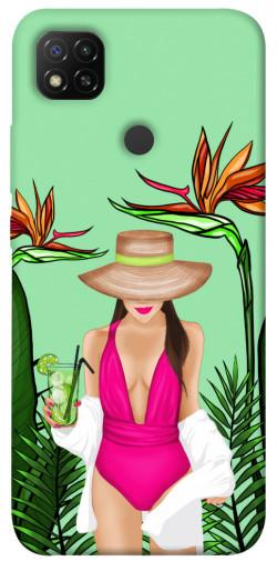 Чехол itsPrint Tropical girl для Xiaomi Redmi 9C