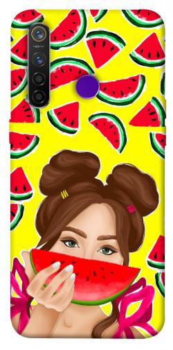 Чехол itsPrint Watermelon girl для Realme 5 Pro