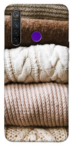 Чехол itsPrint Knitted aesthetics для Realme 5 Pro