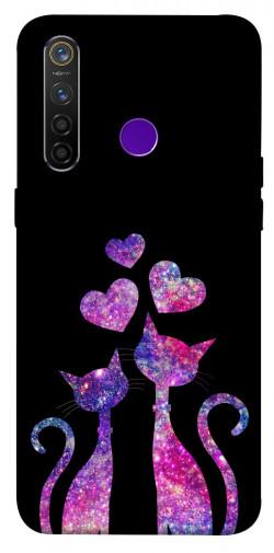 Чехол iPrint Комические коты для Realme 5 Pro