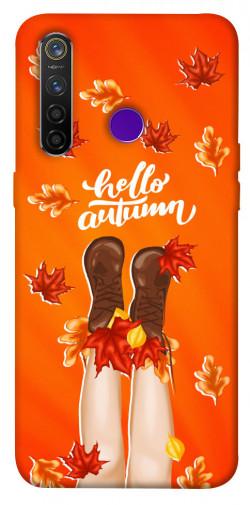 Чехол itsPrint Hello autumn для Realme 5 Pro
