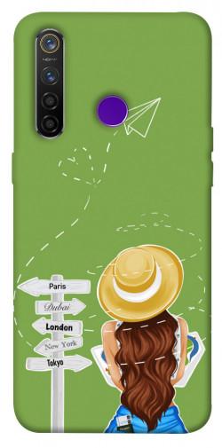 Чехол itsPrint Travel girl для Realme 5 Pro