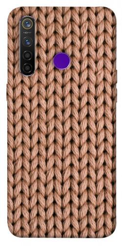 Чехол itsPrint Knitted texture для Realme 5 Pro