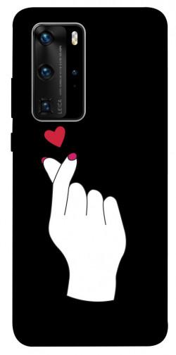 Чехол iPrint Сердце в руке для Huawei P40 Pro