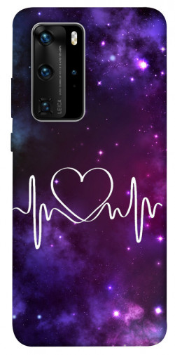 Чехол iPrint Кардиограмма для Huawei P40 Pro