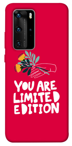Чехол iPrint You are limited edition для Huawei P40 Pro