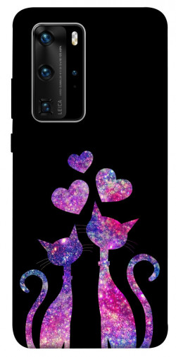 Чехол iPrint Космические коты для Huawei P40 Pro