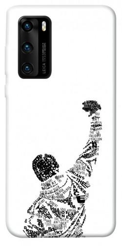 Чехол itsPrint Rocky man для Huawei P40