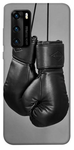 Чехол itsPrint Черные боксерские перчатки для Huawei P40