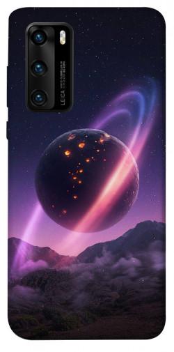 Чехол itsPrint Сатурн для Huawei P40