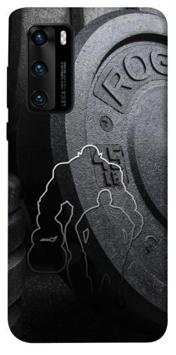 Чехол itsPrint Rod disc для Huawei P40