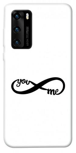 Чехол iPrint You&me для Huawei P40