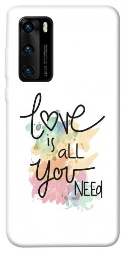 Чехол iPrint Love is all you need для Huawei P40