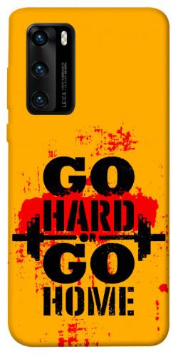 Чехол itsPrint Go hard для Huawei P40