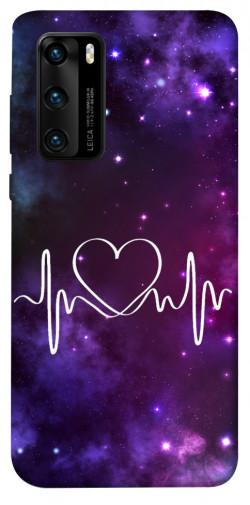 Чехол iPrint Кардиограмма для Huawei P40