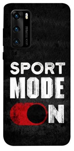 Чехол itsPrint Sport mode on для Huawei P40