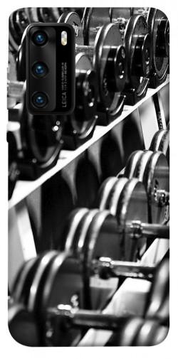 Чехол itsPrint Dumbbells для Huawei P40