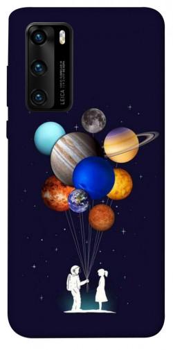 Чехол iPrint Галактика для Huawei P40