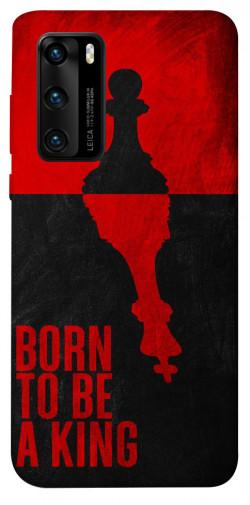 Чехол itsPrint Born to be a king для Huawei P40
