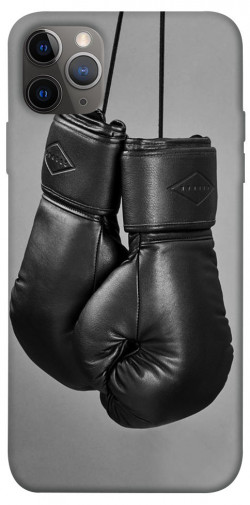 """Чехол itsPrint Черные боксерские перчатки для Apple iPhone 12 Pro (6.1"""")"""