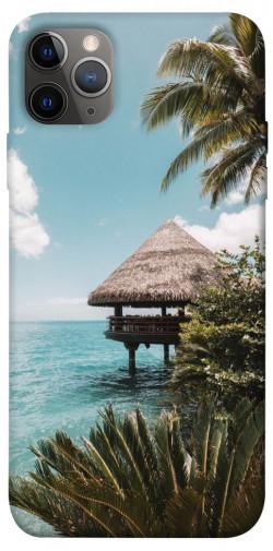 """Чехол itsPrint Тропический остров для Apple iPhone 12 Pro (6.1"""")"""