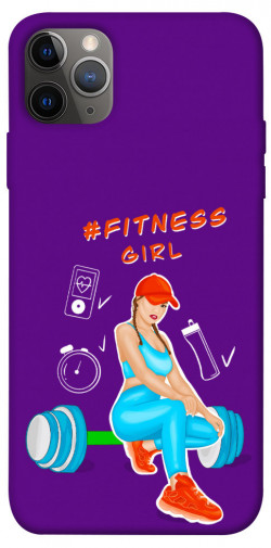 "Чехол itsPrint Fitness girl для Apple iPhone 12 Pro (6.1"")"