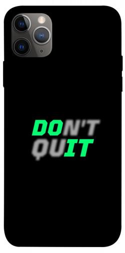 "Чехол itsPrint Don't quit для Apple iPhone 12 Pro (6.1"")"