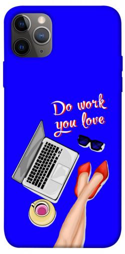 "Чехол itsPrint Do work you love для Apple iPhone 12 Pro (6.1"")"