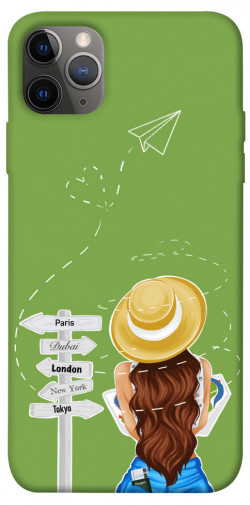 "Чехол itsPrint Travel girl для Apple iPhone 12 Pro (6.1"")"