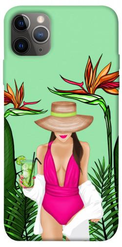 "Чехол itsPrint Tropical girl для Apple iPhone 12 Pro (6.1"")"