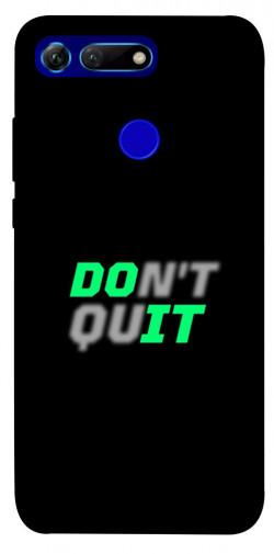 Чехол itsPrint Don't quit для Huawei Honor View 20 / V20