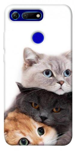 Чехол itsPrint Три кота для Huawei Honor View 20 / V20