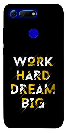 Чехол itsPrint Work hard для Huawei Honor View 20 / V20