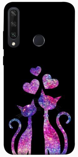 Чехол iPrint Комические коты для Huawei Y6p