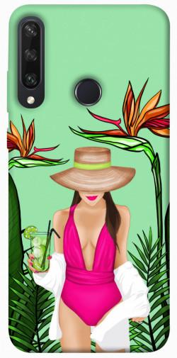 Чехол itsPrint Tropical girl для Huawei Y6p