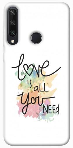 Чехол iPrint Love is all you need для Huawei Y6p