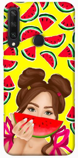 Чехол itsPrint Watermelon girl для Huawei Y6p