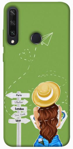 Чехол itsPrint Travel girl для Huawei Y6p