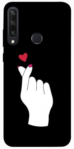 Чехол iPrint Сердце в руке для Huawei Y6p