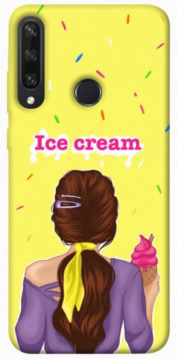 Чехол itsPrint Ice cream girl для Huawei Y6p