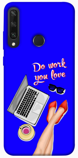 Чехол itsPrint Do work you love для Huawei Y6p