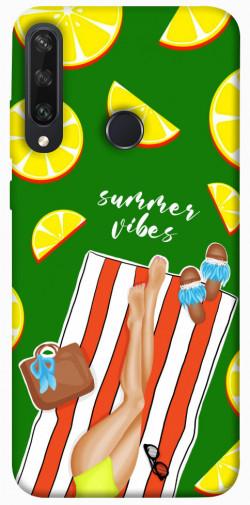 Чехол itsPrint Summer girl для Huawei Y6p