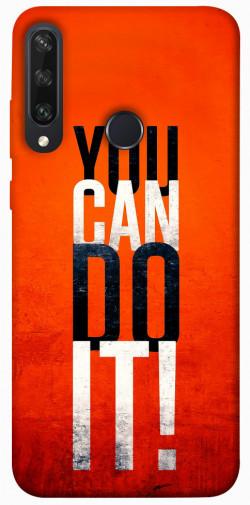 Чехол itsPrint You can do it для Huawei Y6p