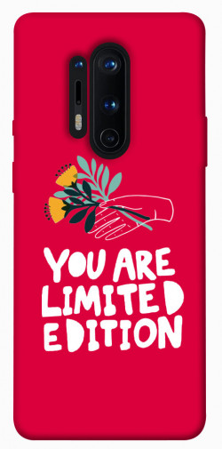 Чехол iPrint You are limited edition для OnePlus 8 Pro