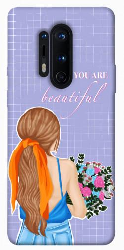 Чехол itsPrint You are beautiful для OnePlus 8 Pro